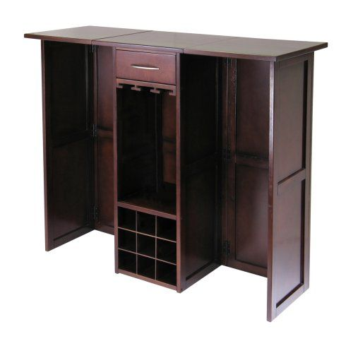 Wholesale Furniture Outlet Newport: Winsome Newport Expandable Wine Bar