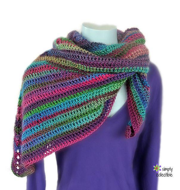 Free Crochet Pattern: Lily\'s Rose Garden Shawl | crochet to try ...