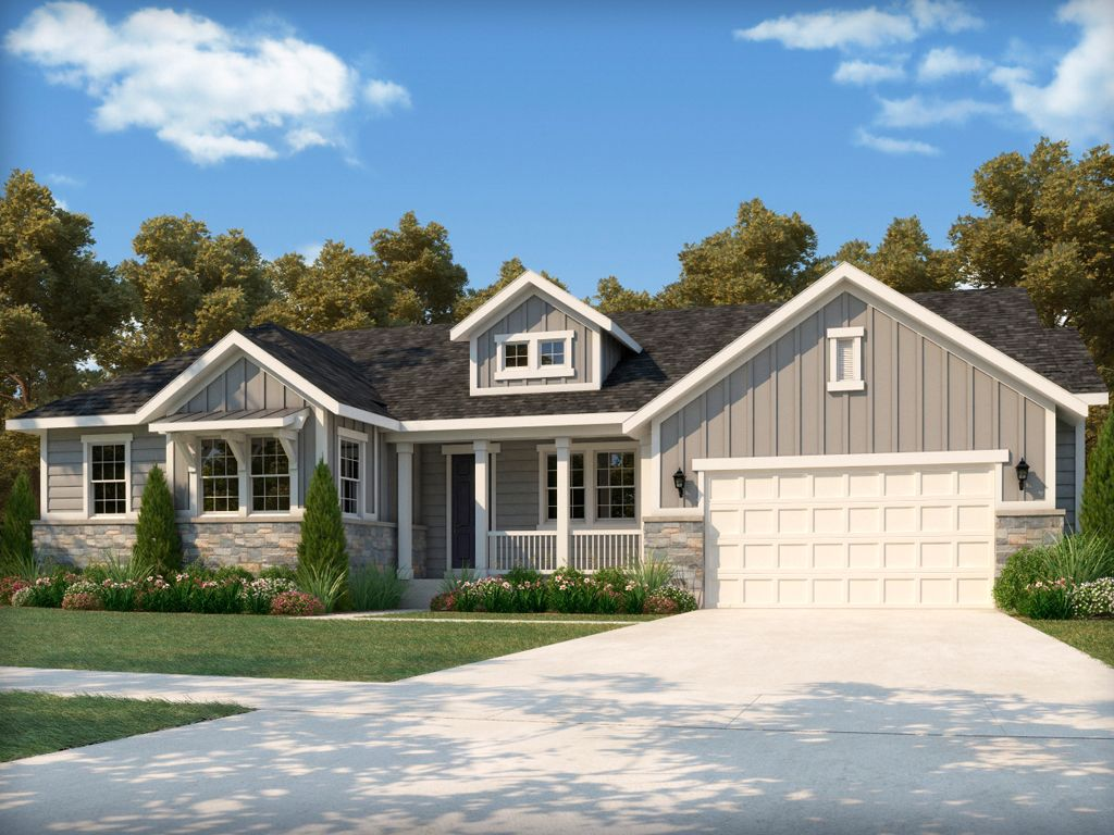 Ontario Farmhouse House Design Model Homes House Styles