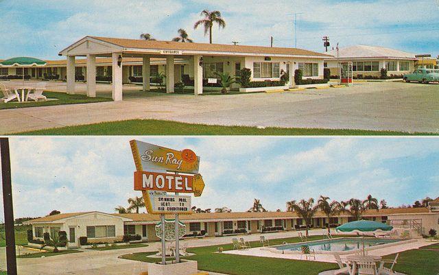 Sun Ray Motel Restaurant West Frostproof Florida Florida Vintage Hotels Hotel Motel