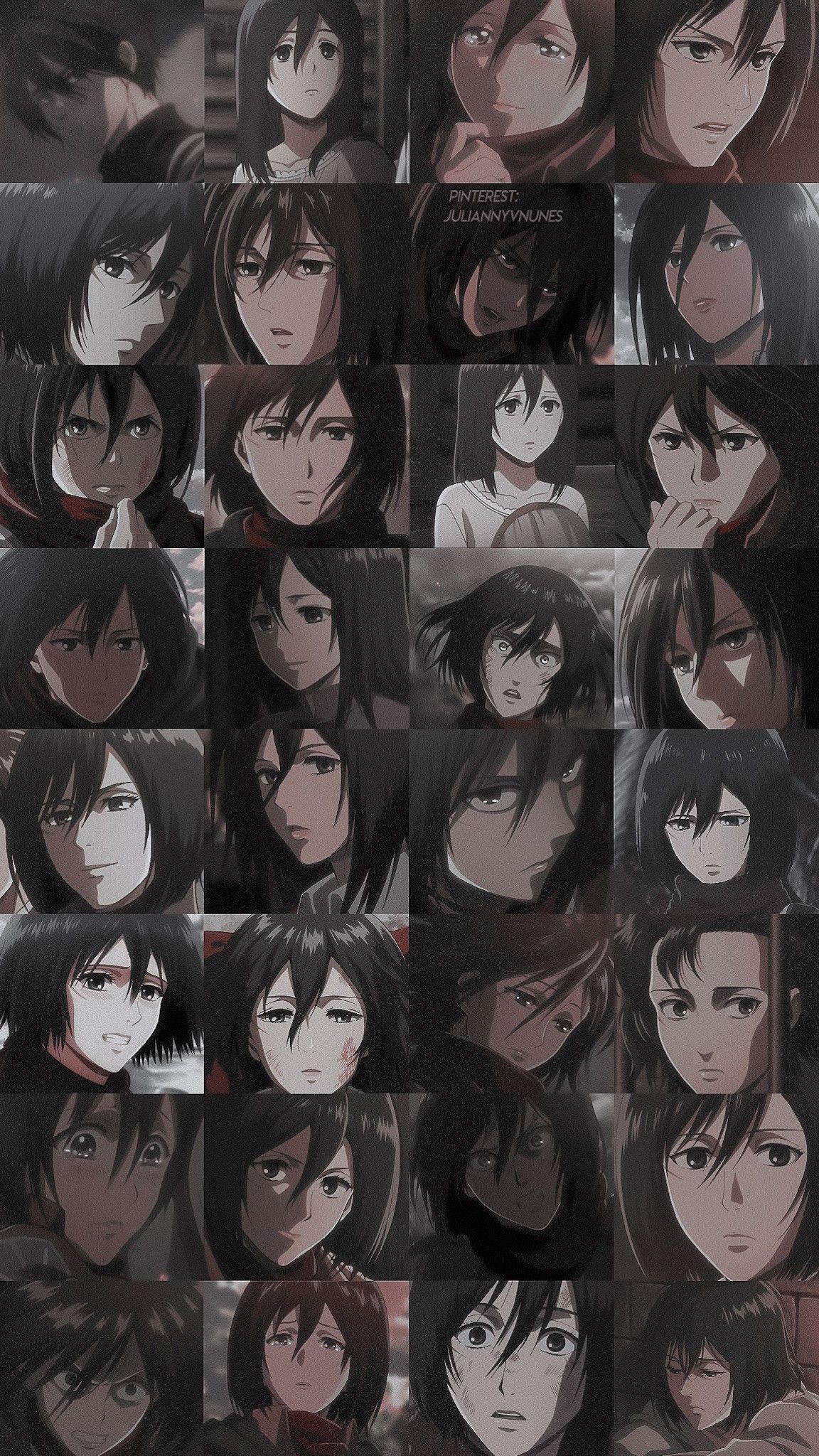 Shingeki No Kyojin Mikasa Ackerman Em 2020