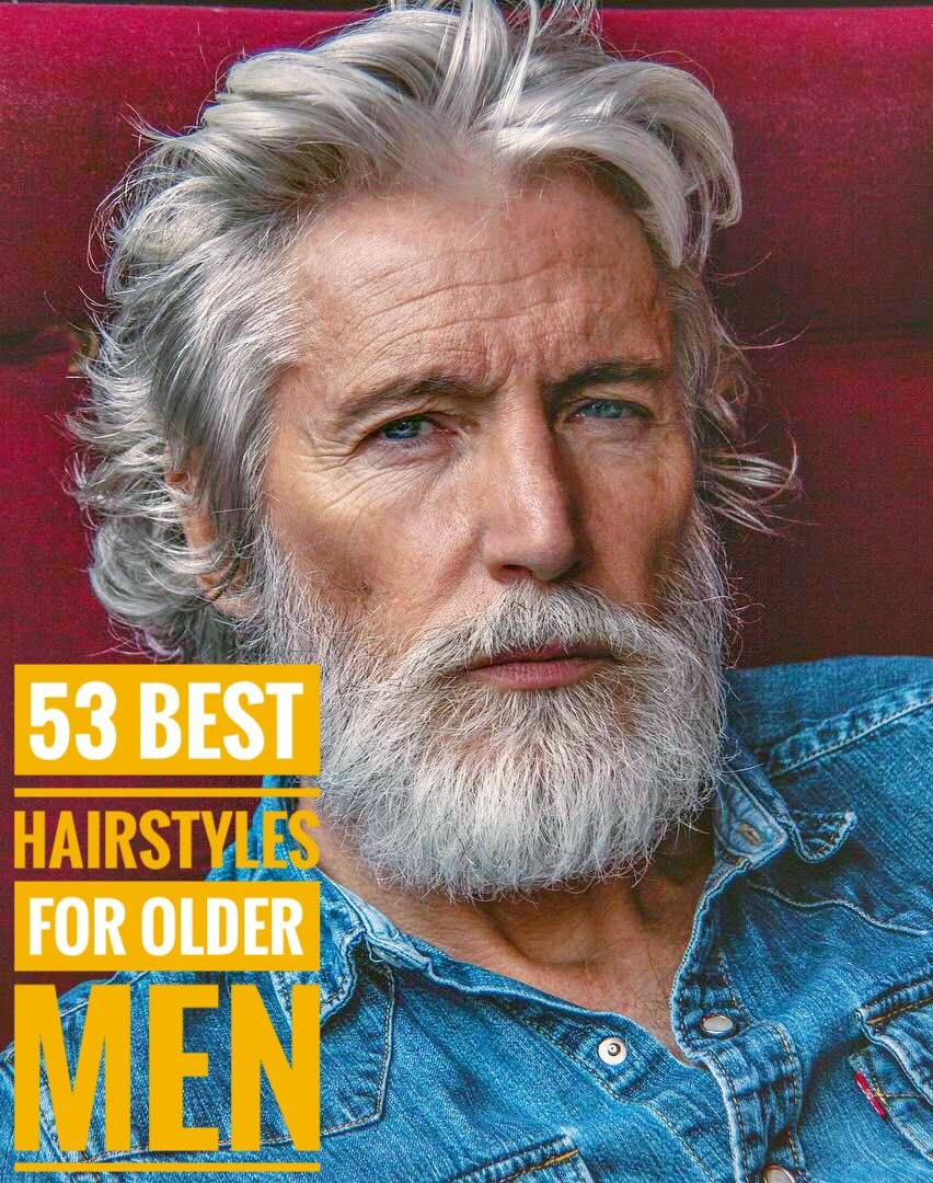 53 magnificent hairstyles for older men older mens