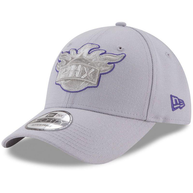 huge selection of ebc02 70fe1 Phoenix Suns New Era 9FORTY Adjustable Hat - Gray