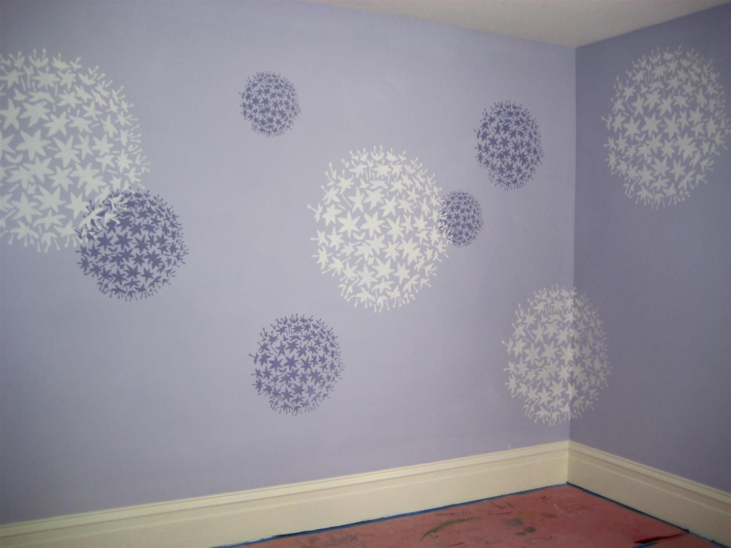 Flower Stencil Large Stencils For Wall Painting Reusable