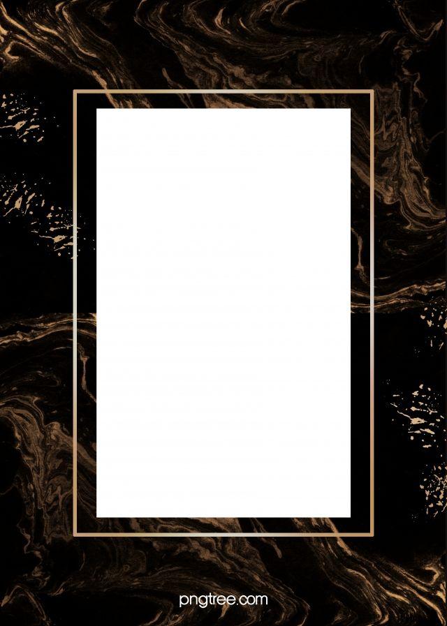 Rosegold Marble Border Black Background Black Background Images Gold Foil Background Marble Border