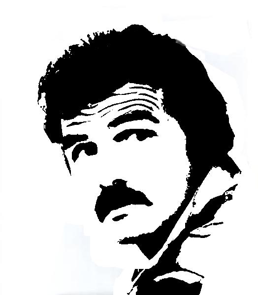 Burt Reynolds Stencil Template Stencil Templates