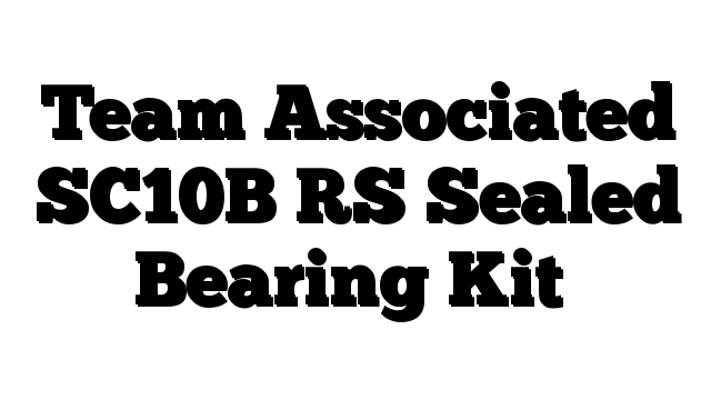 Team Associated SC10B RS Sealed Bearing Kit - http://techstronics.com/reviews/hobbies/rc-cars/team-associated/team-associated-sc10b-rs-sealed-bearing-kit/  - #TeamAssociated
