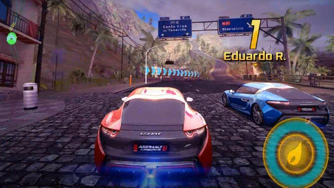 Asphalt Event Games With New Car