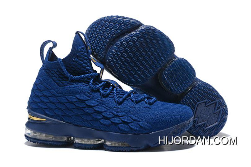 74c2bdef769 2017 Nike Lebron 15 Agimat Philippines Coastal Blue Metallic Gold Free  Shipping