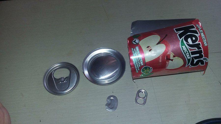 C mo cortar las latas para reciclarlas latitas y m s - Reciclar latas de refresco ...