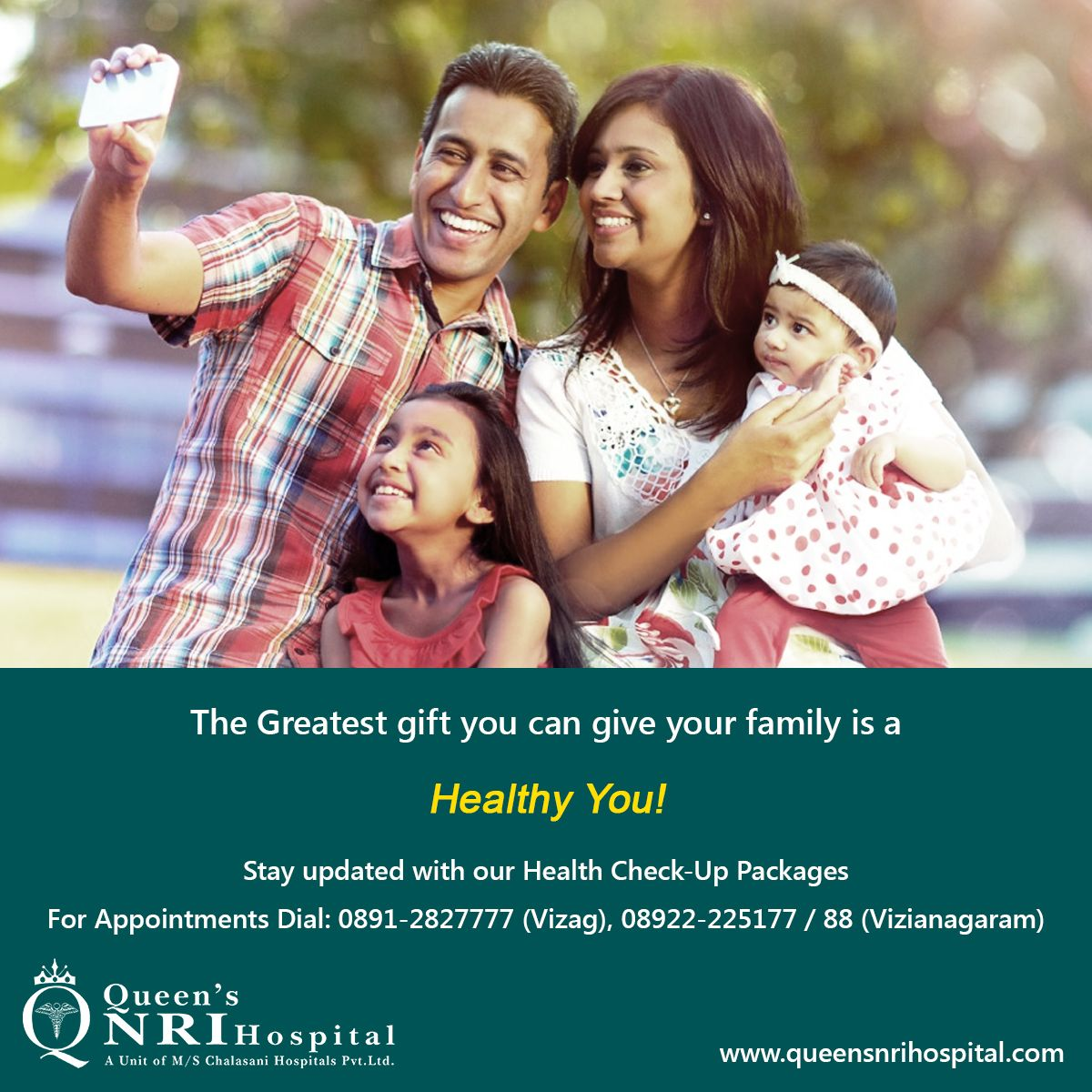 The greatest gift you can give your family is a HEALTHY