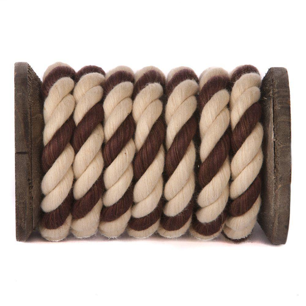 Amazon Com Fms Super Soft Triple Strand 1 4 Inch 1 2 Inch 5 8 Inch 3 4 Inch And 1 Inch Twisted Cotton Rope By The Cotton Rope How To Make Rope Cotton Yarn