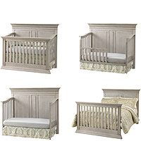 Baby Cache Vienna 4 In 1 Convertible Crib Ash Gray