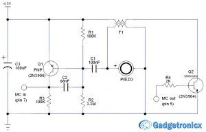 door window alarm circuit electronics projects pinterest rh pinterest co uk