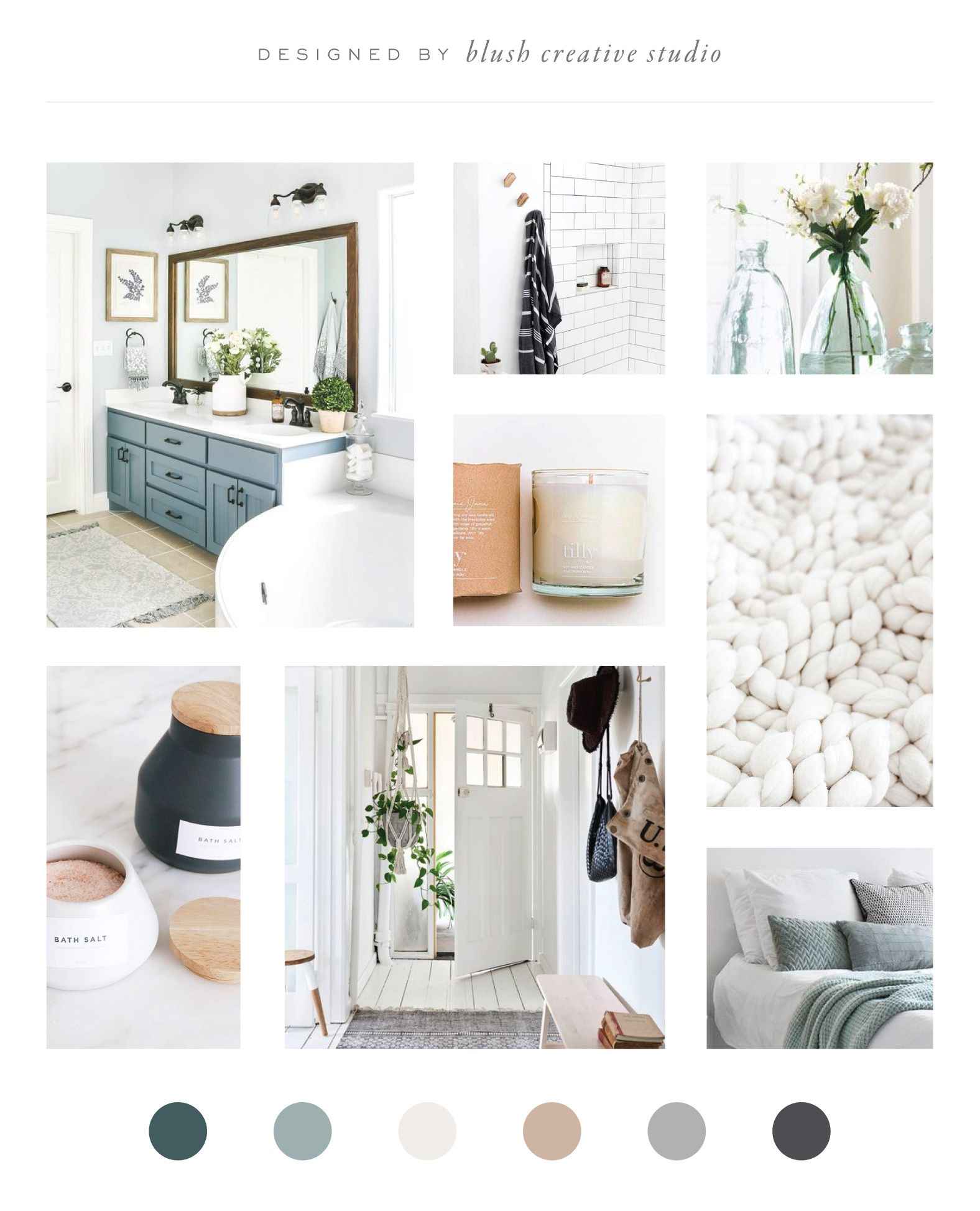 Mood Board Design For Hygge-inspired Home Goods & Gift