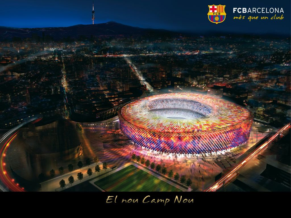 The Best Fc Barcelona Stadium Wallpaper