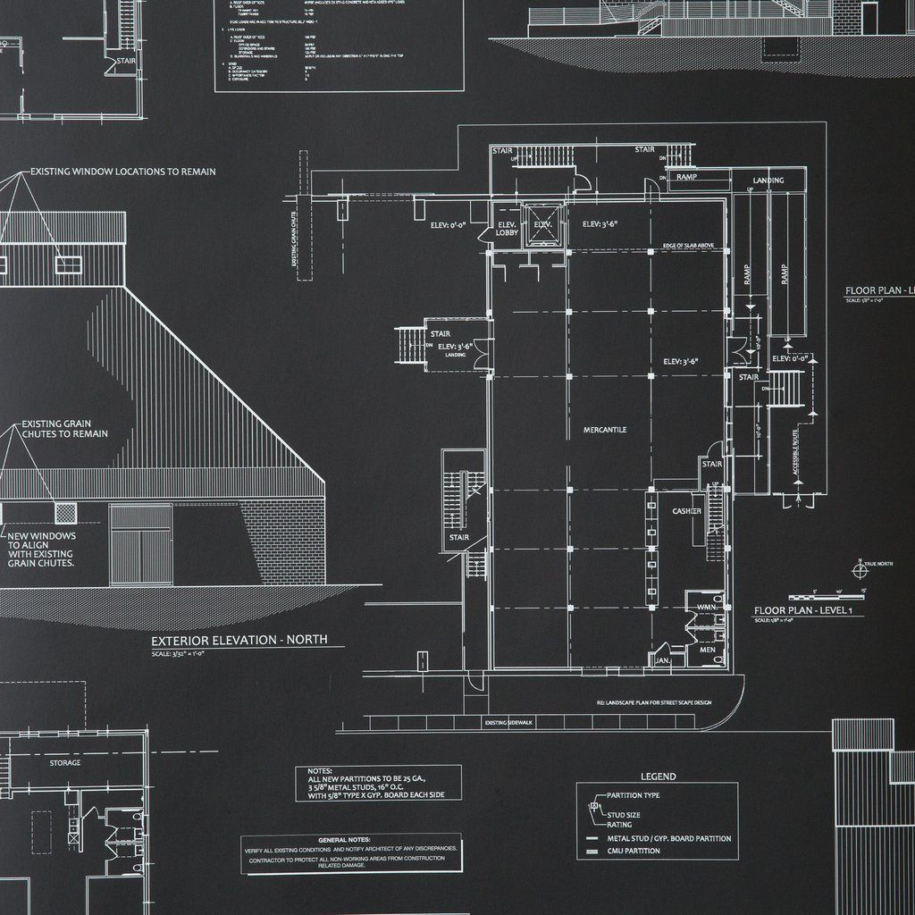 Blueprints Wallpaper/ Joanna Gaines (With images) Powder
