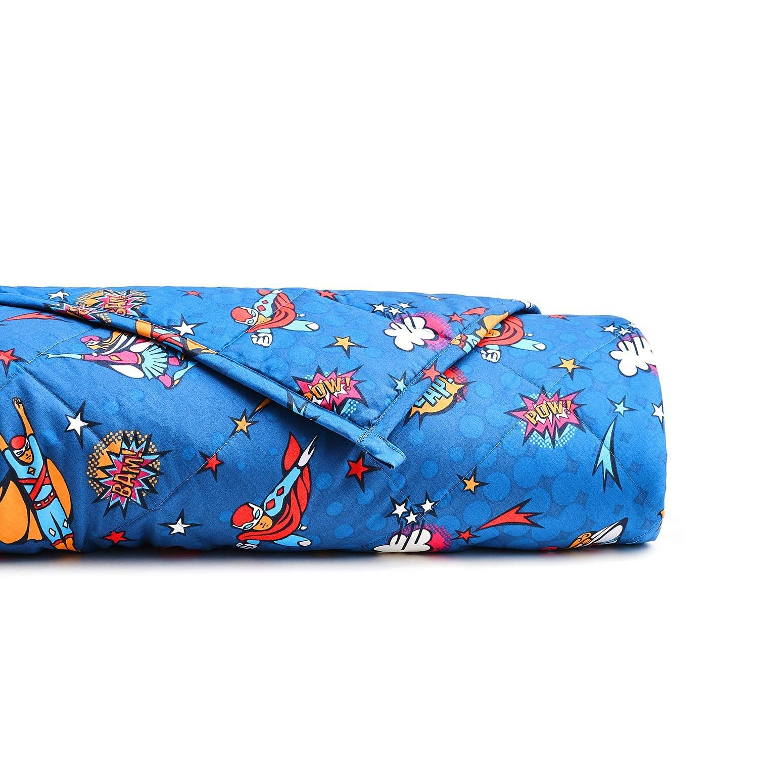 """Weighted Gravity Blanket 15LB,48/'/'x78/"""" Cool Heavy Blanket 3.0 Great for Sleep"""