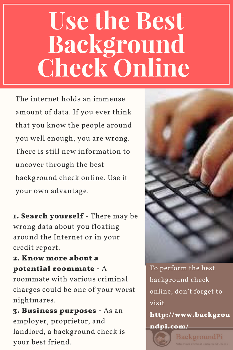 To Perform The Best Background Check Online DonT Forget To Visit
