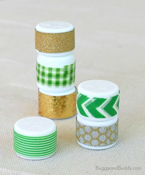 St. Patrick's Day Craft for Kids: Mini Sound Shakers