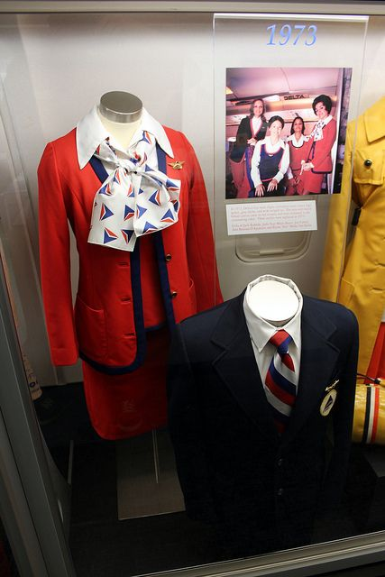 Delta Airlines Flight Attendant Uniforms This is
