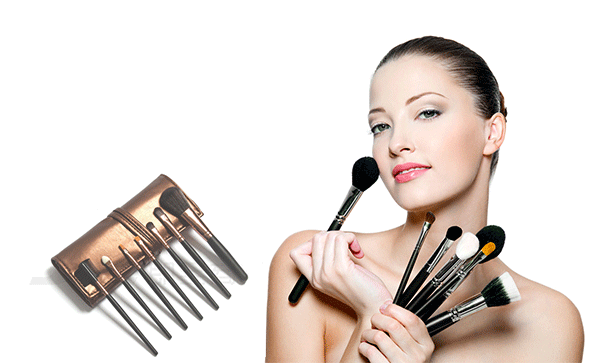 7X Professional Makeup Set Pro Kits Brushes Kabuki Cosmetics Brush Tool