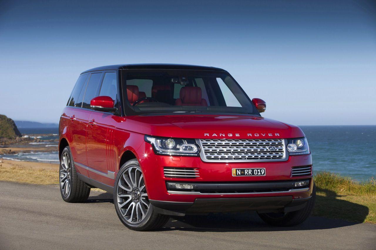 Red Range Rover Autobiography Range rover