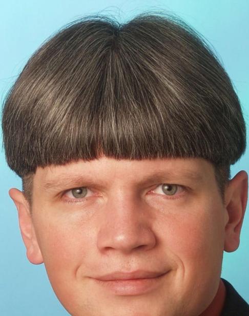 18++ Mushroom top haircut information