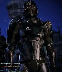 Alliance soldier mass effect