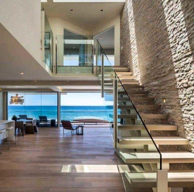 Pin By Ceola Johnson On Future Home Beach House Interior Beach House Design Modern Beach House