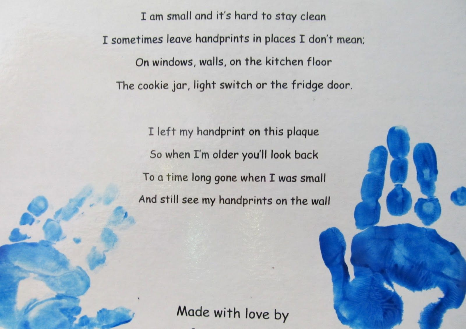 Image result for printable mothers day poem from child preschool