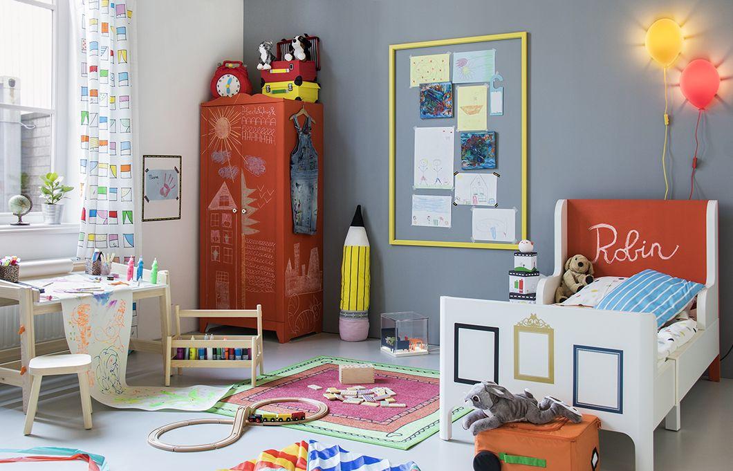 Wonderbaar Back to school: Kinderkamer idee (With images) | Ikea kids room NH-63