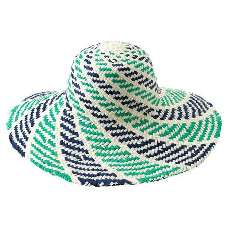 Sorrento Sun Hat in Aqua