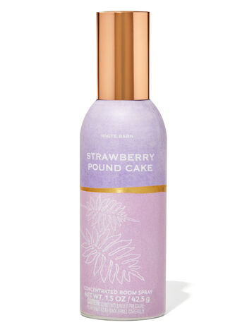 Strawberry Pound Cake Concentrated Room Spray In 2021 Room Spray Bath And Body Works Bath Body Works Candles