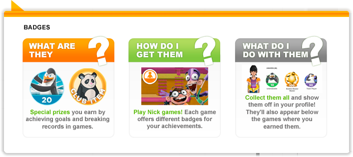 Huh? What are badges?