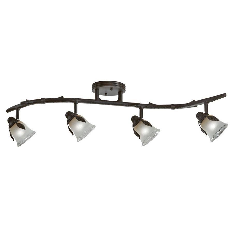 Portfolio Branches 4 Light 33 125 In Olde Bronze Dimmable Standard