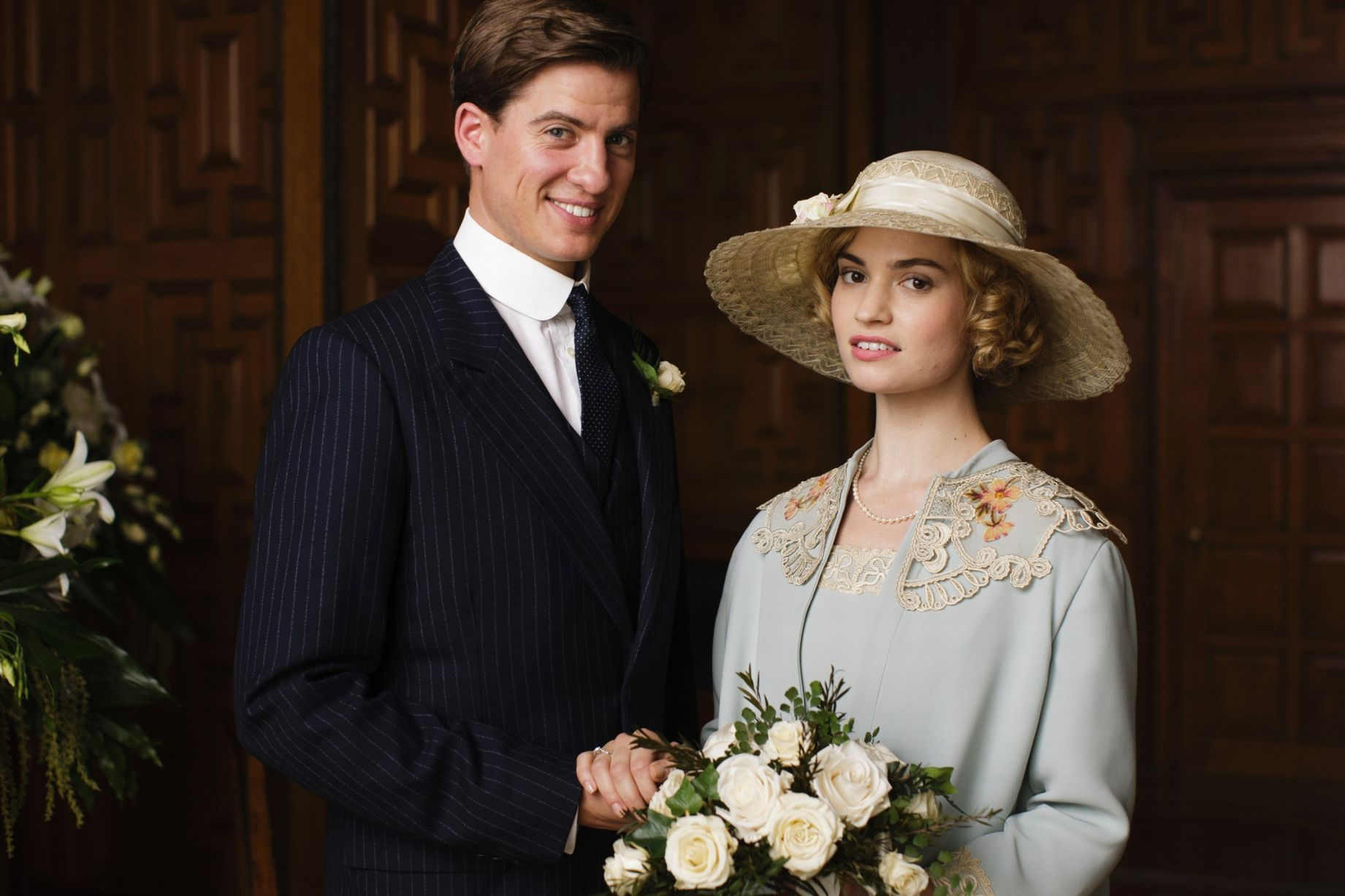Downton Abbey spoilers: First look at Lady Rose's wedding