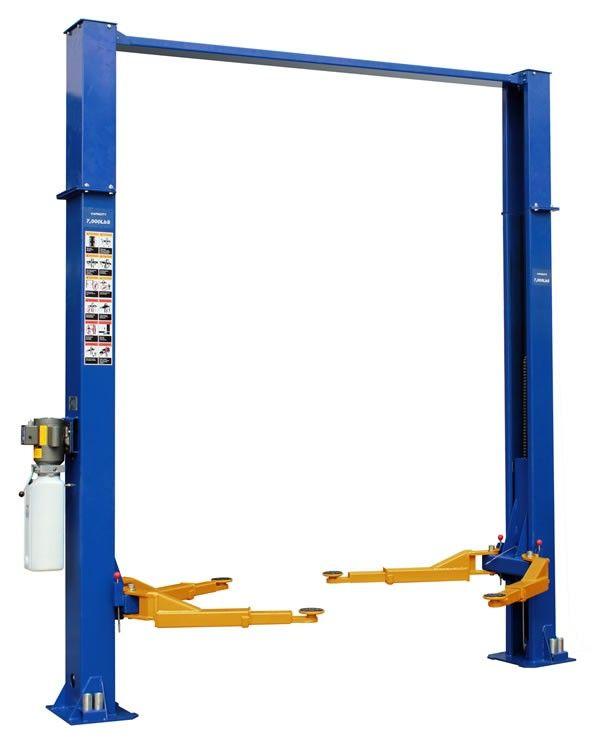 Workhorse Two Post Asymmetric Lift Garage Lift Car Lifts Two Post Car Lift