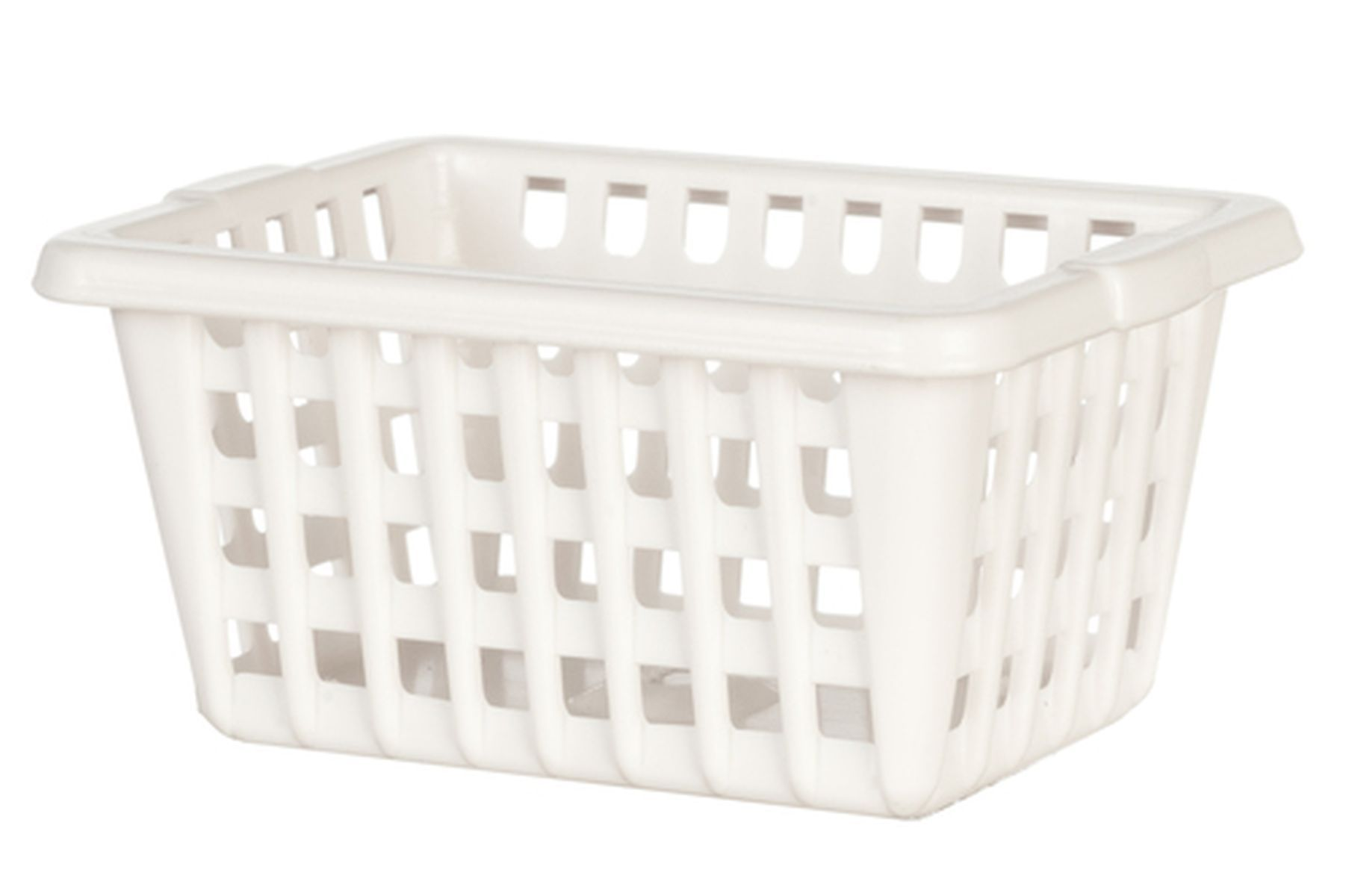 White Laundry Basket By International Miniatures With Images
