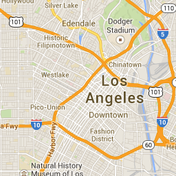 Luckymag Los Angeles Shopping Guide Google Maps