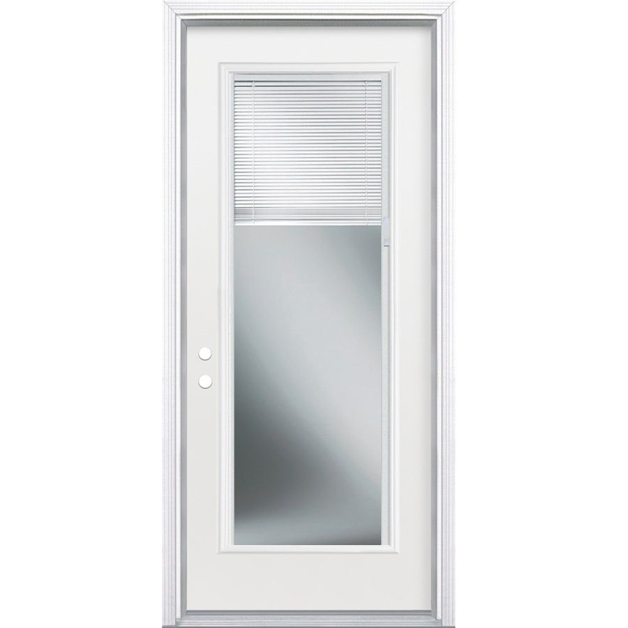 Masonite 2 Panel Insulating Core Blinds Between The Glass Full Lite
