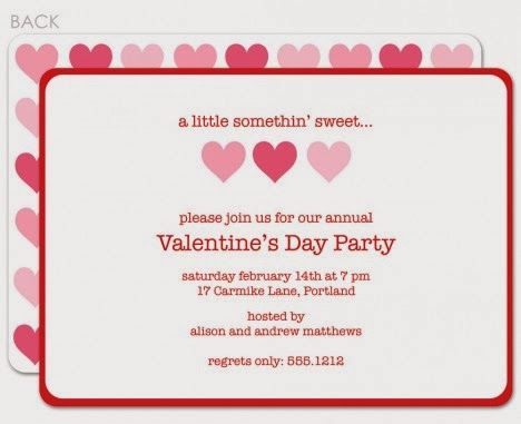 Free Valentines Day 2014 Invitation Cards Templates Chinese New Year 2014 Lunar Year Party Invite Template Party Invite Design Valentine Party Invitations