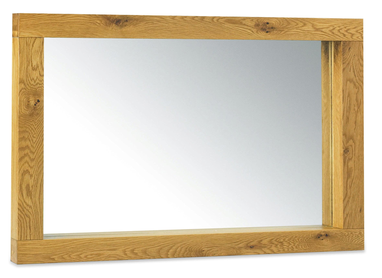 Lyon Oak Landscape Mirror - 144 x 90cm The Lyon Oak furniture ...