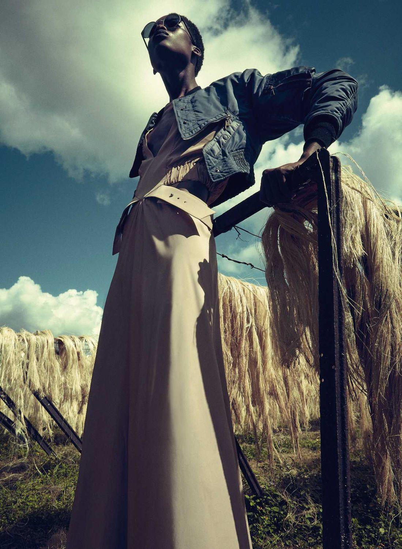Maria Borges by Sofia Sanchez & Mauro Mongiello for Harper's Bazaar Germany February 2016