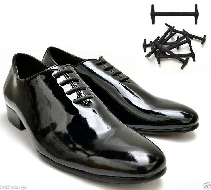 b2bf0ba518e0d Easy Slip On No tie Elastic Silicon Shoelaces for Casual & Dress Shoe Laces  10EA #Esprin