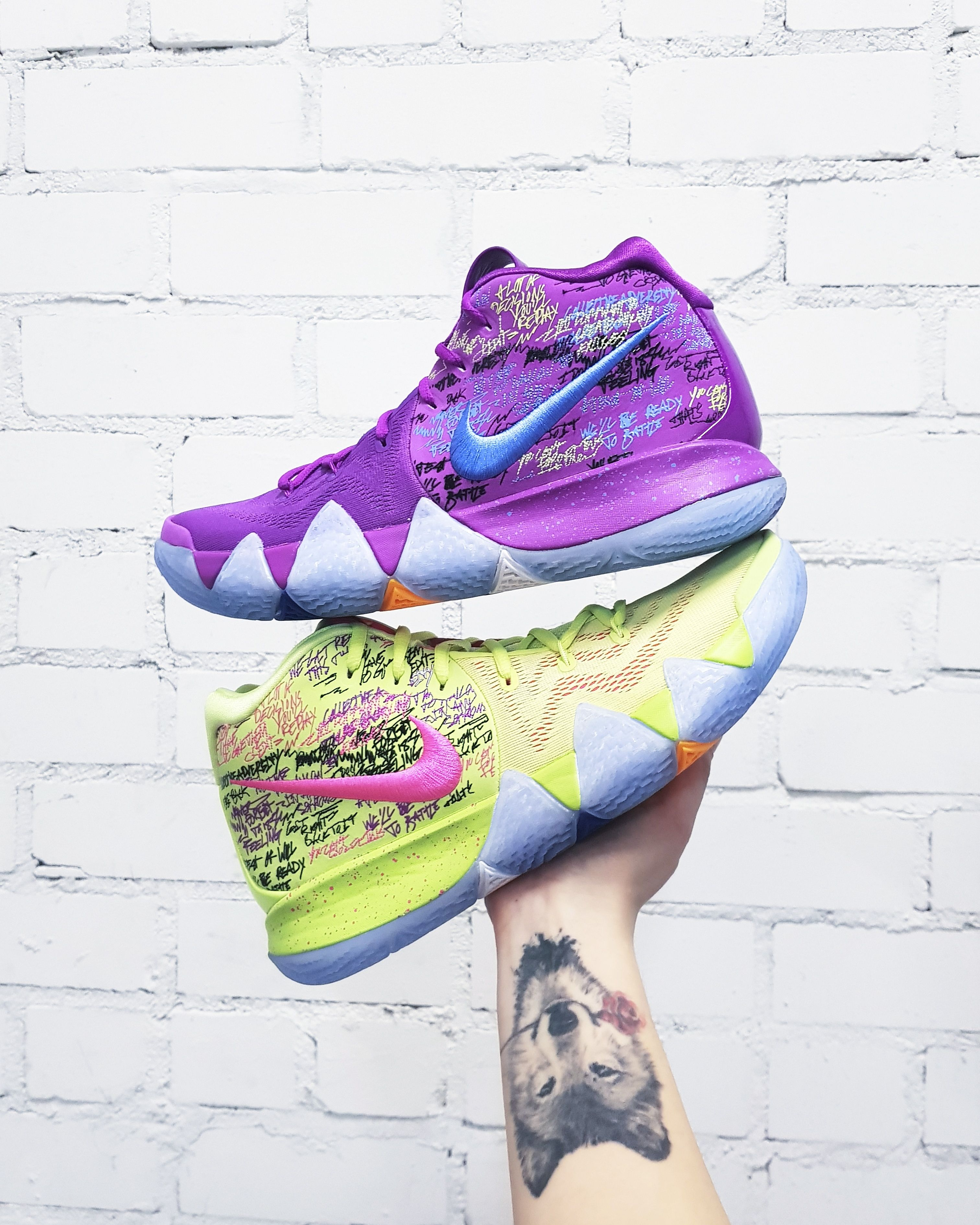 timeless design e8c1a 9fee7 Nike Kyrie 4 Confetti | Basketball shoes in 2019 | Nike ...