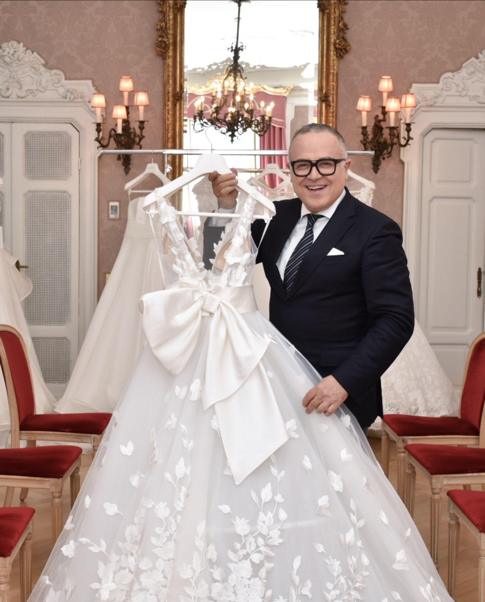 Gli Abiti Da Sposa Piu Belli Sono Firmati Stefano Blandaleone Alta Moda Sposa Italiana Abiti Da Sposa Abito Per Damigella Sposa