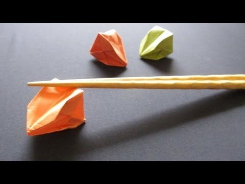 How to Fold a Chopsticks Rest from Its Paper Wrapper « The Secret ... | 360x480