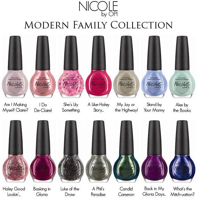 Nicole By OPI Nail Modern Family Nail Polish Collection | Hair ...