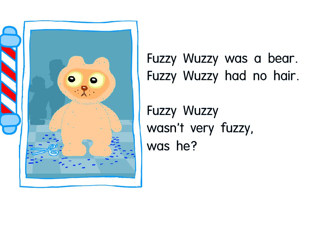 Fuzzy Wuzzy Tongue Twister